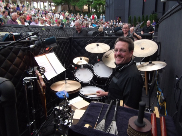 In the pit at the MUNY